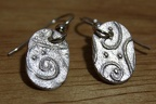 Enspiraled Oval Earrings