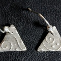 Enspiraled Triangle Earrings