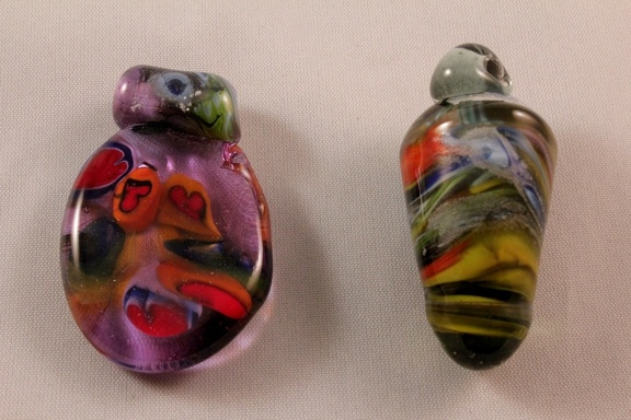 Heart Pendant & Rolled Pendant